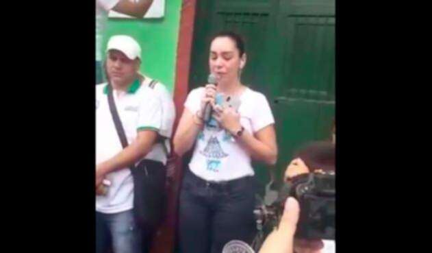 Diana Arévalo, madre de Cristo José Contreras