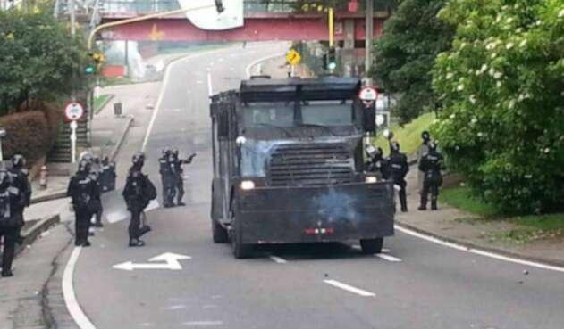 Disturbios U Distrital