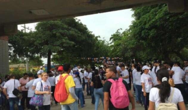 El cuerpo de estudiantil asegura que la Universidad del Atlántico continúa en paro.