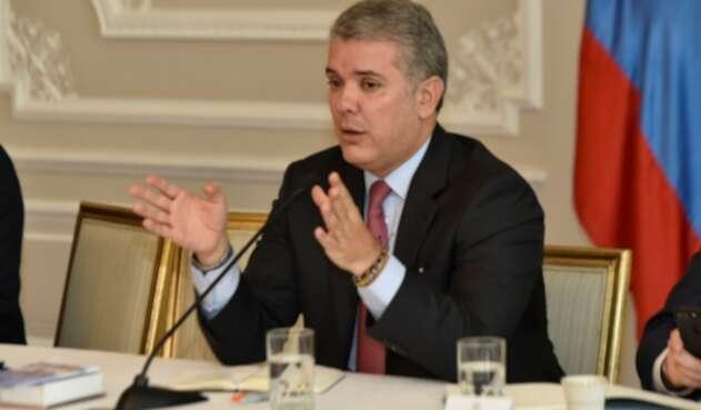 Presidente de Colombia, Iván Duque Márquez