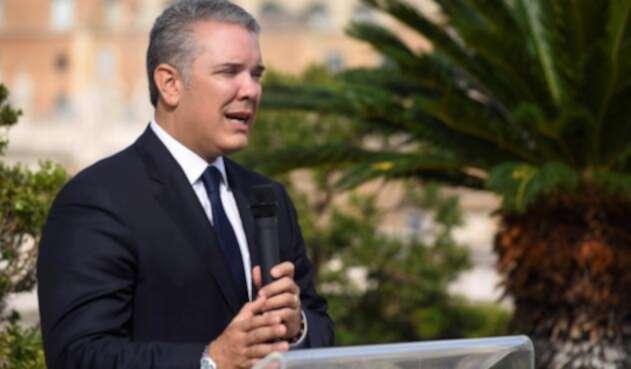 Presidente Iván Duque, en RP en Roma