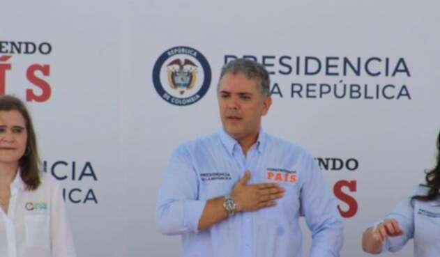 El presidente Iván Duque bajará el esquema de seguridad.