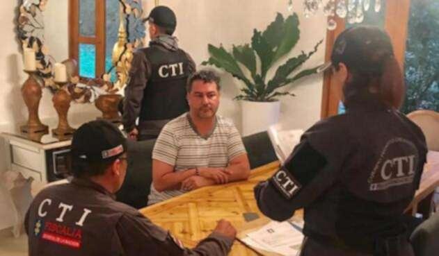 Édison García Restrepo agredió a unos uniformados