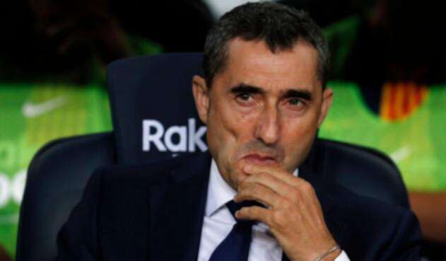 Ernesto Valverde, técnico del Barcelona