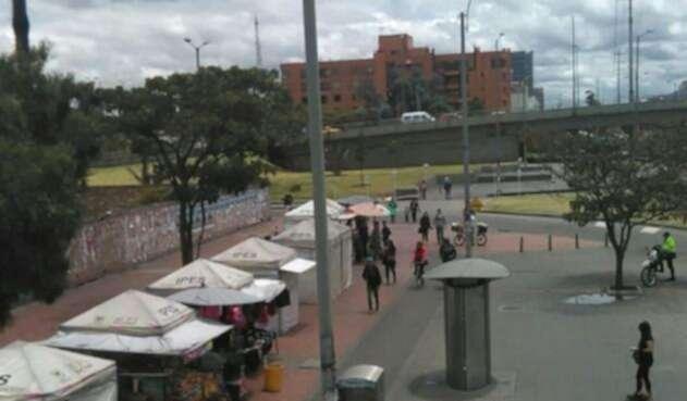 Espacio público de Bogotá