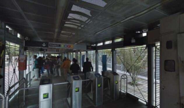 Estación de Transmilenio de Las Aguas