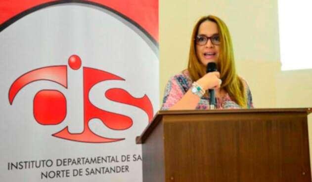 Eva Katherine Carrascal, superintendente delegada para la supervisión institucional de la Superintendencia Nacional de Salud