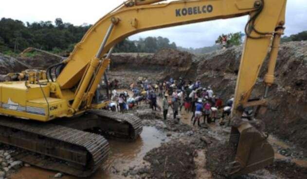 Explotación minera en Colombia
