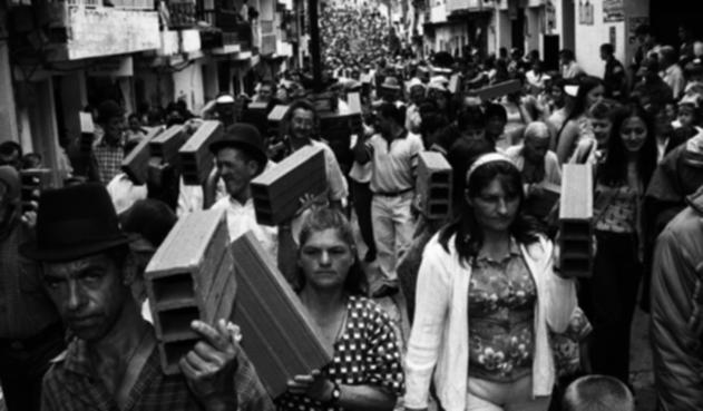 Exposición sobre conflicto armado colombiano