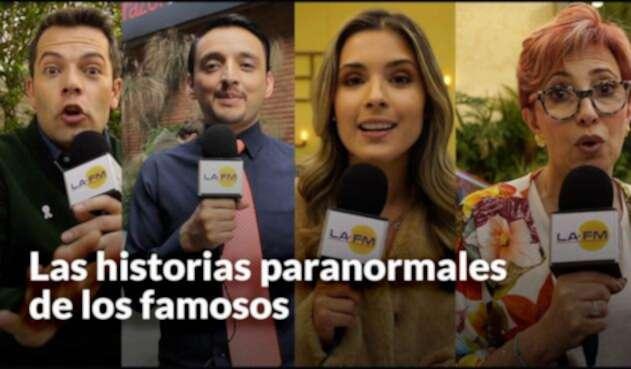 Historias paranormales de los famosos