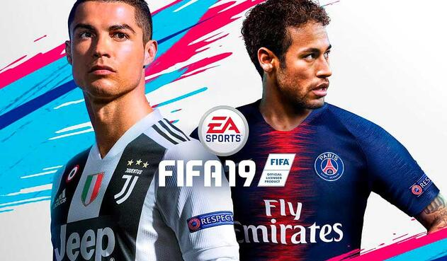 Portada FIFA 19 con Cristiano Ronaldo y Neymar