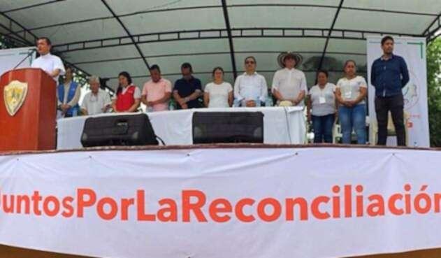 En el evento se trazaron compromisos para lograr la reconciliación.