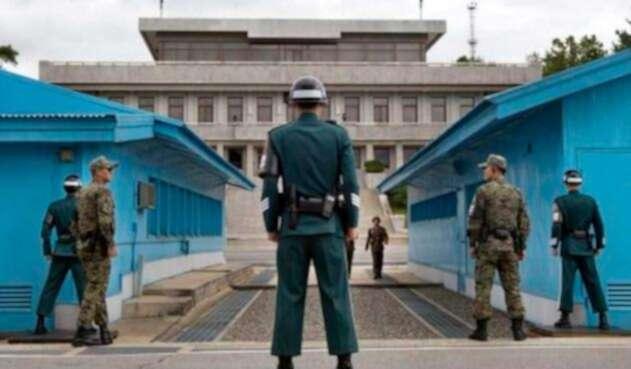 Desminado en Frontera Corea