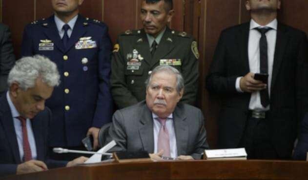Guillermo Botero, ministro de Defensa del gobierno Duque