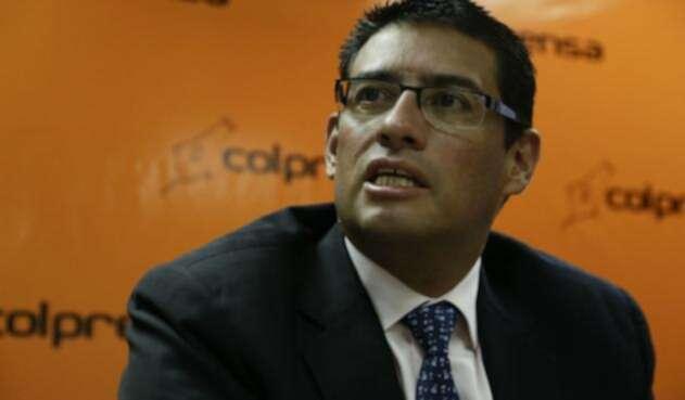 El expresidente de Cafesalud, Guillermo Grosso