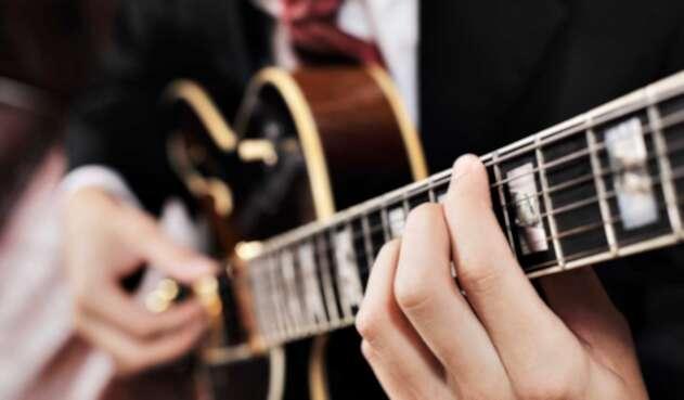 Guitarra. Imagen de ilustración.