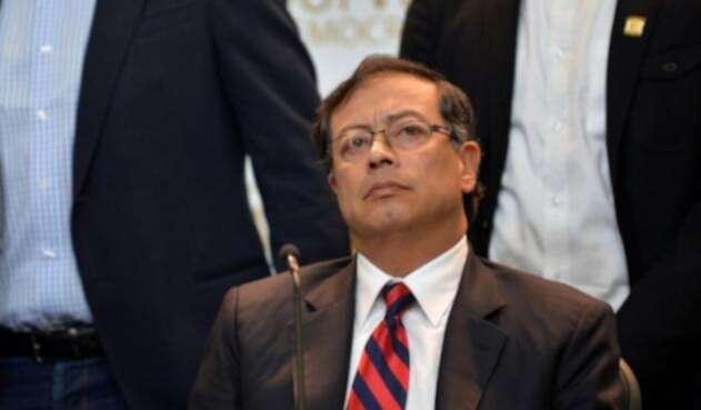 Gustavo Petro, en el Senado
