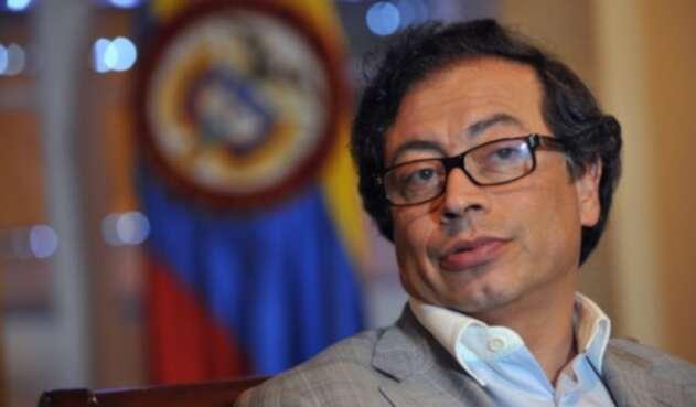 Senador y ex alcalde de Bogotá, Gustavo Petro.