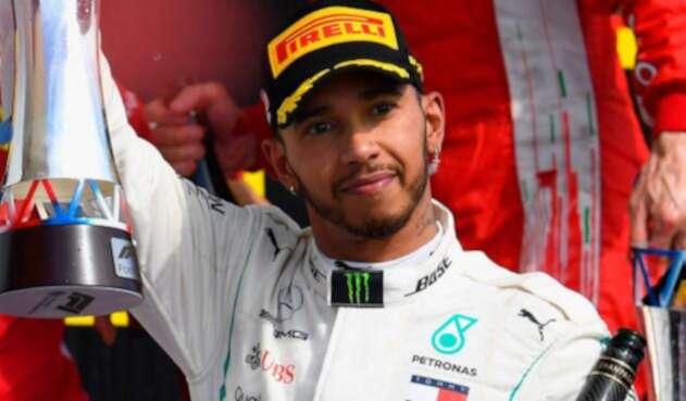 Lewis Hamilton, logró su quinto título en la Fórmula 1 igualando a Juan Manuel Fangio