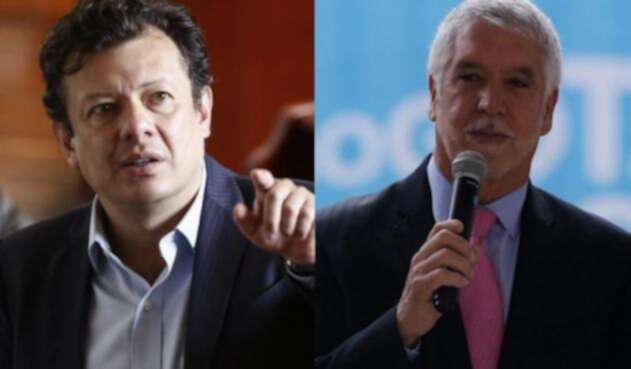 Hollman Morris y Enrique Peñalosa