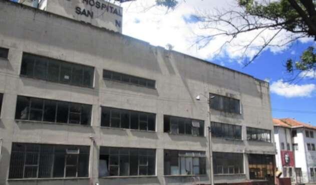 Hospital San Juan de Dios Bogotá