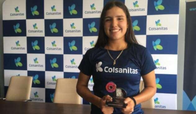 María Camila Osorio, subcanmpeona del Masters Junior