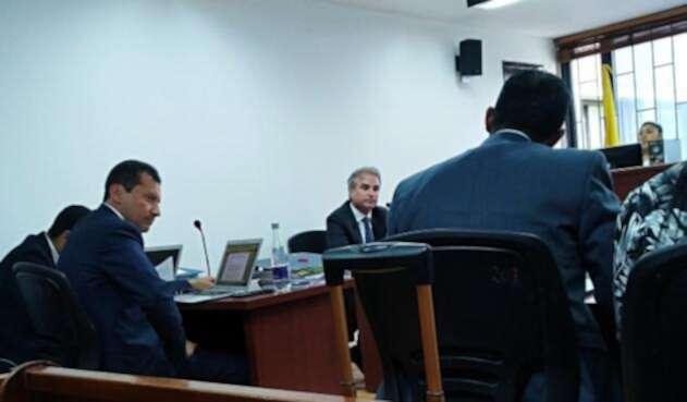 Ex superintendente de Industria y Comercio, Pablo Felipe Robledo asistió como testigo