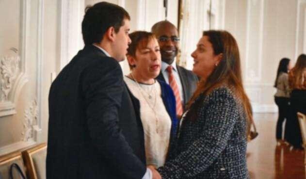 Claudia Ortiz y Karen Abudinen consejera presidencial para las regiones