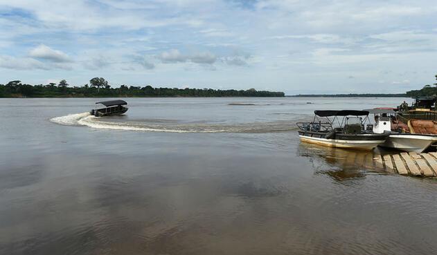 Río Inírida, Guainía