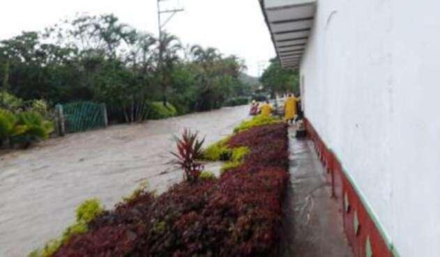 Inundaciones en El Dovio, Valle del Cauca