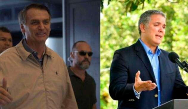 Duque y Bolsonaro no han hablando sobre intervenir Venezuela