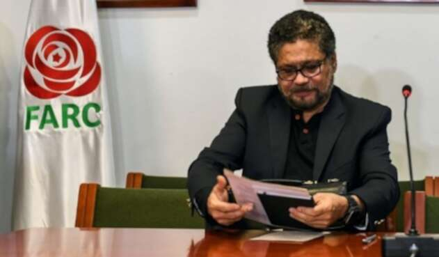 Iván Márquez, ex negociador de paz de las Farc