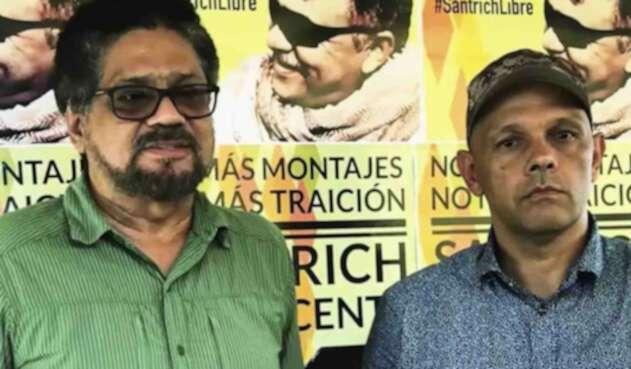 Iván Márquez y El Paisa, dos de los miembros de las Farc sobre quienes hay dudas de su compromiso con el Acuerdo de Paz.