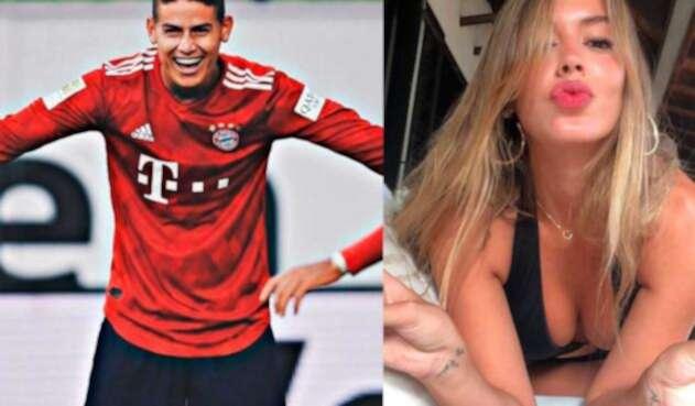 James Rodríguez y Shannon de Lima serían pareja