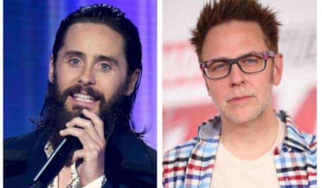 Jared Leto y James Gunn