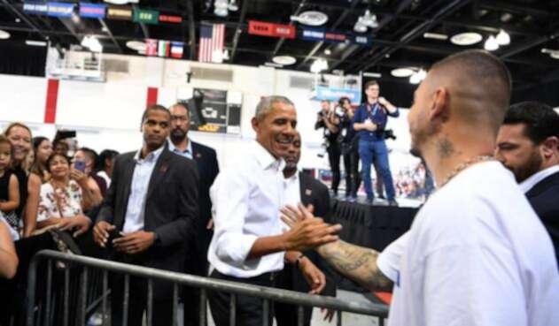 J Balvin y su encuentro con Barack Obama