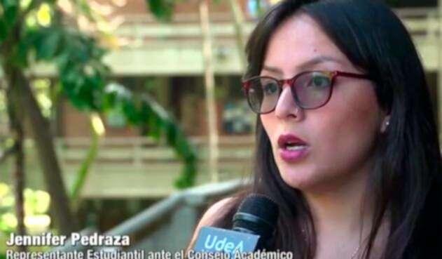 Jennifer Pedraza, líder de la Asociación Colombiana de Representantes Estudiantiles de la Educación Superior
