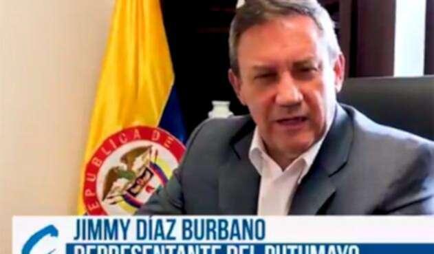 Jimmy Díaz, congresista del Partido Conservador