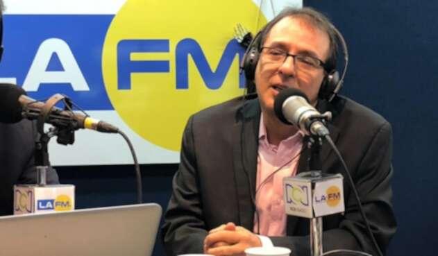 Jorge Rojas, precandidato a la Alcaldía de Bogotá, en La FM