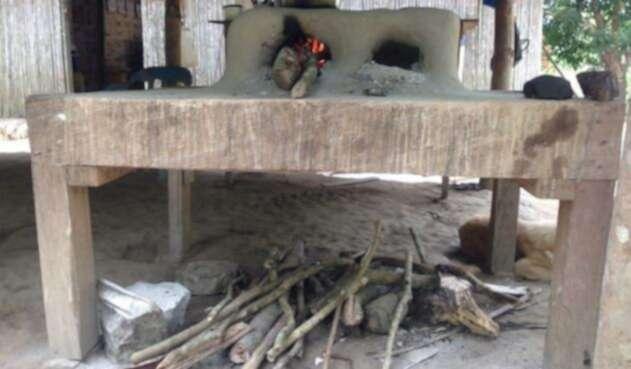 Las familias que cocinan con leña están ubicadas principalmente en zonas rurales