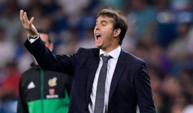 Julen Lopetegui, DT del Real Madrid