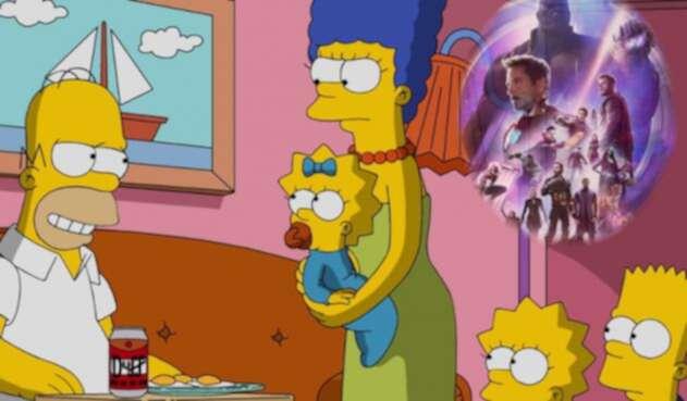 Los Simpson - Avengers