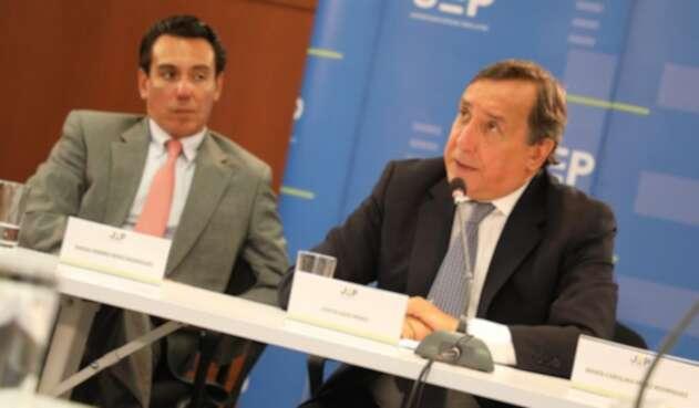 Luis Eladio Pérez ante la JEP