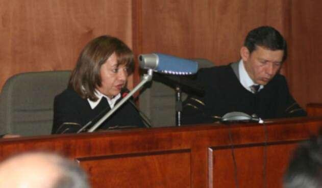 Magistrado de Justicia y Paz, Eduardo Castellanos Rosso.
