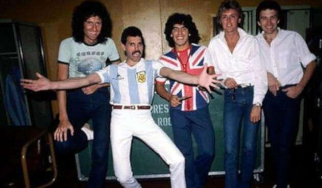 Queen y Diego Maradona en Argentina - 1981