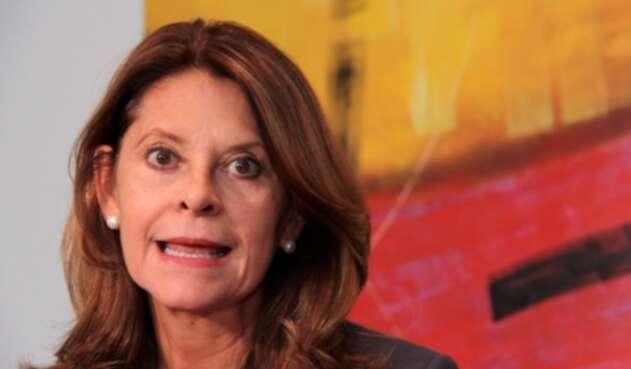 Marta Lucía Ramírez, vicepresidente de la República