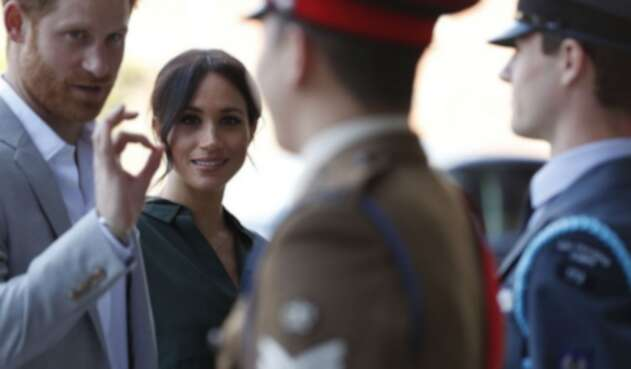 El príncipe Harry y la duquesa de Sussex, Meghan Markle.