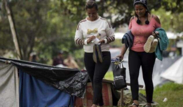 El Gobierno nacional presentó el Conpes, un documento con las estrategias para mitigar la crisis de venezolanos en el país.