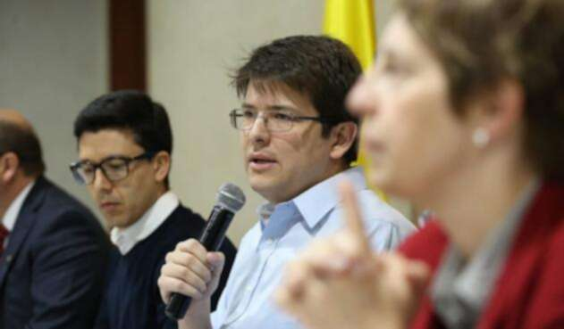 Miguel Uribe, exsecretario de Gobierno de la Alcaldía de Bogotá