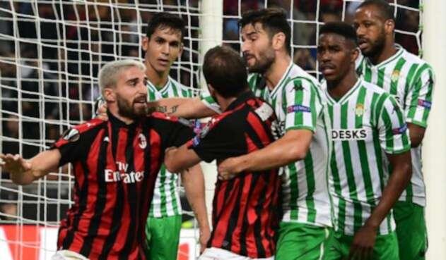 Real Betis derrotó al Milan